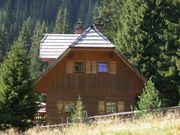 Holzhaus in den