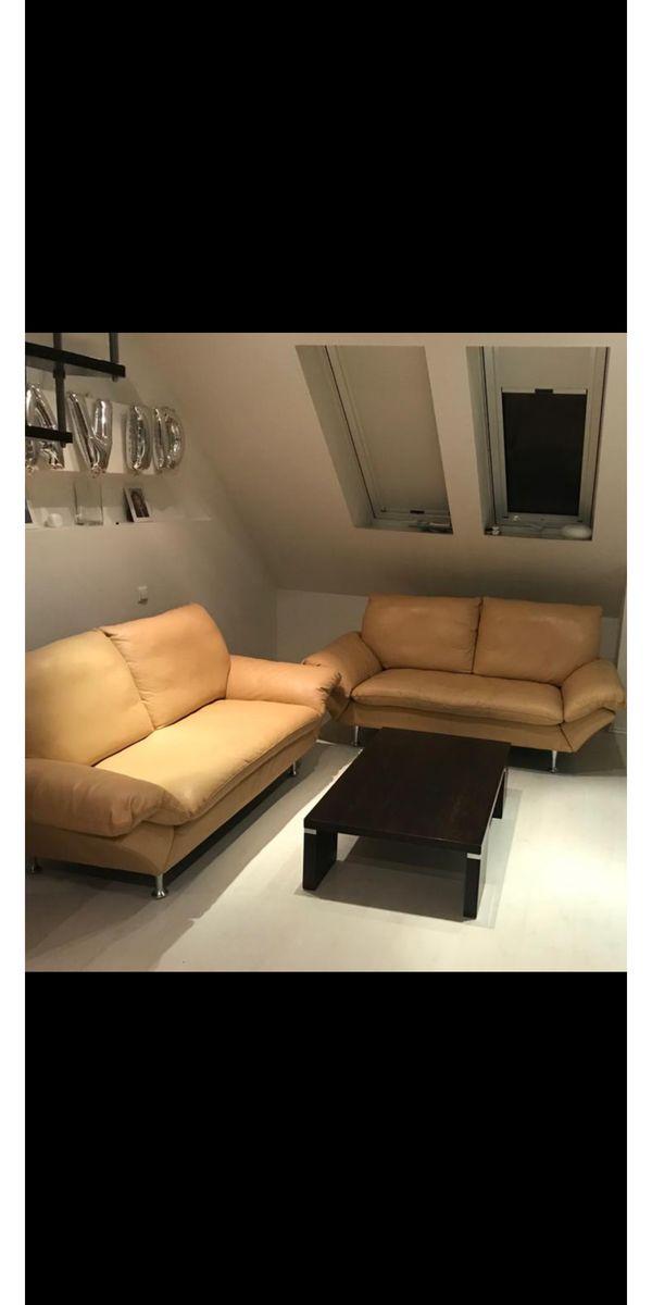 Rolf Benz Leder Sofa Sitzgarnitur In München Polster Sessel