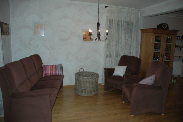 verkaufe polstergarnitur sofa mit 2 sessel in hattenhofen, Hause deko