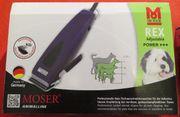 Tierschermaschine Moser Rex