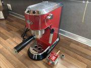 DeLonghi Espresso Siebträgermaschine 15 Bar
