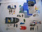 Großes Playmobil ® Polizei /