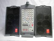 PA-Anlage Verstärker Boxen Micro Mischpult