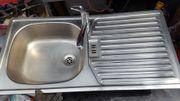 Einbauspülle inkl Küchen-Mischbatterie