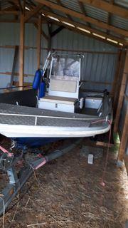 Motorboot Angelboot MIT oder OHNE