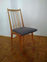 5 Vintage-Stühle