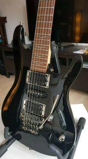 RESERVIERT Ibanez S470 E-Gitarre Schwarz