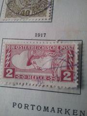 Briefmarken Österreich 1917
