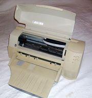 Tintenstrahldrucker A3 Farbe Randlos drucken