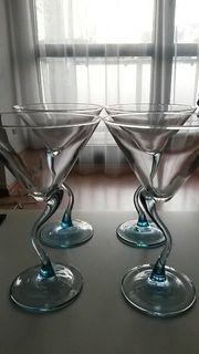 4 Cocktail- Martinigläser