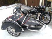 Beiwagenmotorrad 500 BMW 51 3