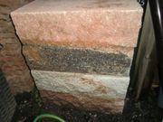Mauersteine Muschelkalk