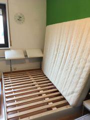 modernes Bett Kunstleder