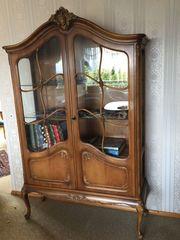 Chippendale Stilmöbel Glasvitrine WARRINGS