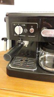 Espressomaschine DeLonghi mit Crema Siebträger