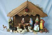 Krippe und andere Weihnachts-Deko