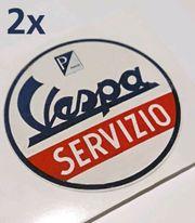 Vespa Servizio Aufkleber V50 VBA