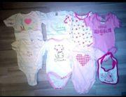 Babykleidungspaket Mädchen Baby 52-68 pink