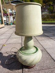 Chinesische Seladon Vase als Lampe