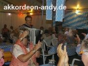 Akkordeonspieler in Münster Ahaus Gronau