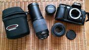 Nikon-Kameras F-601 und Coolpix 5700