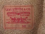 Levis Sherpa Jeans-Jacke Gr XL