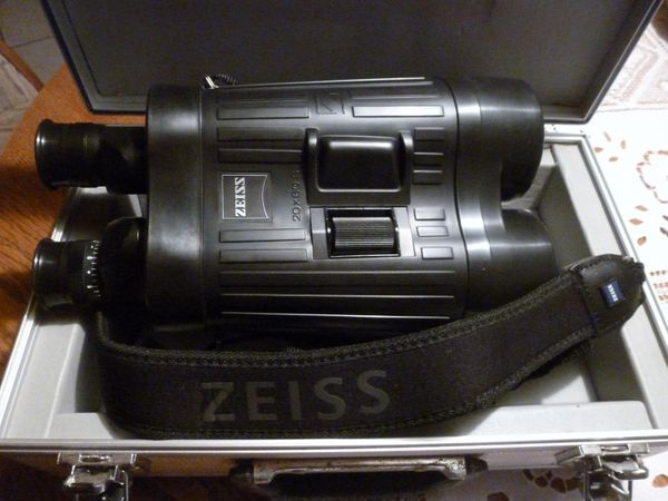 Zeiss 20 x 60 s fernglas mit bildstabilisator inklusive