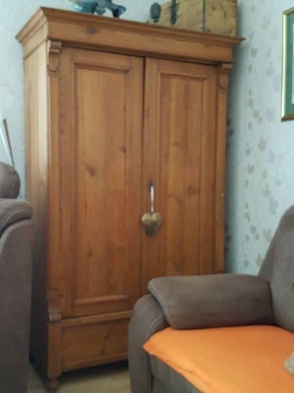 wohnschrank haloch - Natrliche Hickory Holzbden