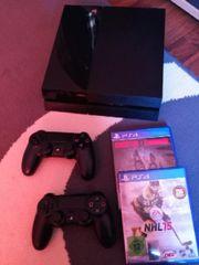 PS4 500GB + 2