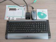 Logitech Funk-Tastatur und Maus