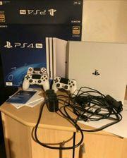 Playstation4Pro 1TB mit 10Spiele mit