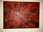 Original Öl Gemälde Ölbild Roter