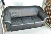 Ledercouch/sofa zu