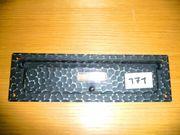 Briefeinwurf Schmiedeeisen 285 85mm Schlitzmaß
