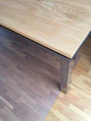 Designer Esstisch Holzplatte