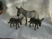 3 Spielzeug-Esel DONKEY