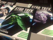 Verschiede Star Trek Eaglemoss Raumschiffsammlung
