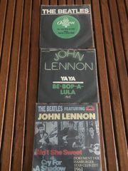 3 SINGLE JOHN LENNON - BEATLES