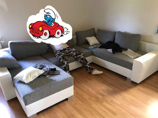 Neuwertige Segmüller Couch Wohnlandschafr Beidseitig Montierbar In