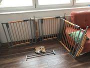 3x Treppenschutzgitter 1 x Verlängerung