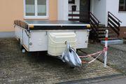 Esterel Klappwohnwagen, - feste