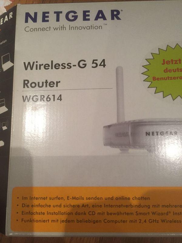 Router Wireles - G 54 NETGER