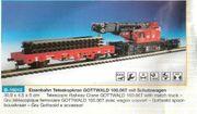 kibri-H0-Bahndienstfahrzeug-FM-Neuwertig-Super Preis