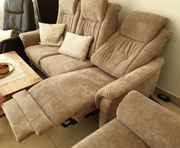 Wohnzimmer Sitzgarnitur Domino Classic neuwertig