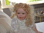 Wunderschöne Porzellan Puppe Sammlerpuppe
