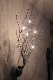 Außergewöhnliche Halogen Astleuchte Wandlampe Chrom
