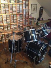 Sonor Schlagzeug schwarz
