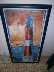 Kunstdruck Leuchtturm