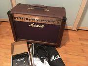Marshall AS50D Akustikverstärker inkl Hülle