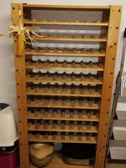 Wein-Flaschen-Regal 90x180 aus Holz für